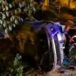Zonguldak'ta kontrolden çıkan otomobil devrildi: 1 yaralı