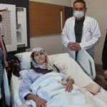 3 aydır yürüyemeyen 62 yaşındaki kadın şifayı Manisa'da buldu
