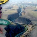 Akyaka Kanyonu turizme kazandırıldı