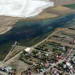 'Ayakkabı' görünümlü Ulaş Gölü turizme kazandırılacak