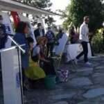 Bodrum'daki törende provokasyon! Kaymakam alanı terk etti