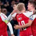 Danimarka, Dünya Kupası biletini tarihe geçerek aldı