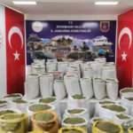 Diyarbakır'da 2 tona yakın uyuşturucu ele geçirildi
