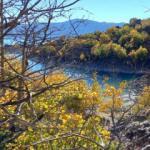 Dünyanın ikinci büyük kraterinde sonbahar güzelliği