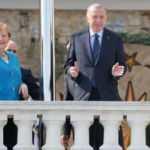 Erdoğan ve Merkel görüşmesinden çarpıcı kareler