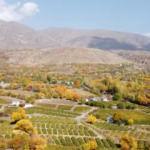 Erzincan'da sonbahar bir başka güzel