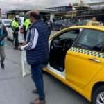 Fatih'te yolcu seçen taksici polise yakalandı! Ceza yağdı