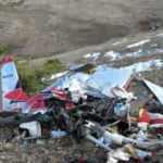Kazakistan'da hafif motorlu uçak düştü