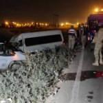 Şanlıurfa'da minibüsle panelvanın çarpıştığı kazada 10 kişi yaralandı