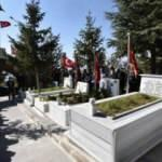 Şehit Eren Öztürk kabri başında anıldı