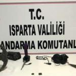Sit alanında kaçak kazı yapan 8 kişi suçüstü yakalandı