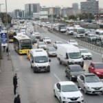 İstanbul'da haftanın ilk iş gününde trafiğe teslim