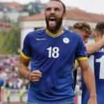 Vedat Muriqi'in golü Kosova'ya yetmedi!