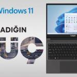 Windows 11, Casper bilgisayarlarda kullanıma sunuldu