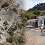 3 bin yıllık Bizans kilisesi ve mezarları turizme kazandırılacak