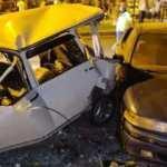 7 aracın karıştığı kazada ortalık savaş alanına döndü: 1 ölü, 8 yaralı