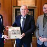 AA yöneticileri Çağlar ve Peru, Washington Büyükelçisi Mercan'ı ziyaret etti