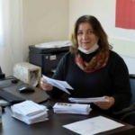 Aksaray'ın tek kadın muhtarı 12 yıl önce aldığı mührü kimseye bırakmıyor