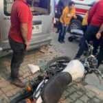 Araç sahibinden ölümden dönen motosiklet sürücüsüne: Bırakın gebersin