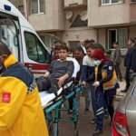 Bursa'da kahreden tesadüf: Kaza yapıp yaralanan oğlunu görünce şoka girdi