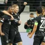 Eintracht Frankfurt, Olympiakos'u 3 golle geçti!