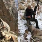 Erzincan'da kaçak avlandı, bakın yakayı nasıl ele verdi