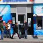 Eskişehir'de bir banka şubesi koronavirüs nedeniyle kapatıldı
