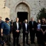 İsrailli milletvekillerinden Şam Kapısı'na provokatif ziyaret