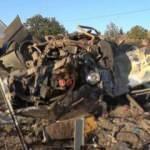 Kırıkkale'de feci kaza, otomobil hurdaya döndü: 1 ölü