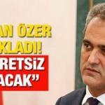 """MEB'den öğrencilere güzel haber! Bakan Mahmut Özer: """"Kesinlikle almasınlar ücretsiz olacak"""""""