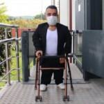 Doğuştan cam kemik hastası 29 yaşındaki Burak, azmiyle engel tanımıyor
