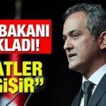 """Okullarda ders saati azaltılacak mı? (MEB) Bakan Mahmut Özer'den """"saatler değişir"""" açıklaması..."""