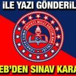 Ortaokul ve lise öğrencileri için kritik sınav kararı alındı! MEB'den 81 İl Müdürlüğüne yazı gönderildi...