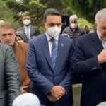 Osman Nuri Kabaktepe, Özdemir Bayraktar'ın cenazesinde Kur'an-ı Kerim okudu