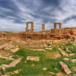 Peygamberler Şehri'nin antik kenti mimarisiyle dikkat çekiyor