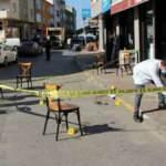 Sarıyer'de işyeri önünde silahlı kavga! 2 kişi yaralandı