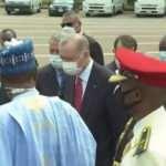 Son Dakika... Cumhurbaşkanı Erdoğan Nijerya'da