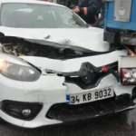 TEM Otoyolu'nda 27 araç çarpıştı: 17 kişi yaralandı