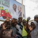 Togo'da Başkan Erdoğan coşkusu! Sokaklar Türk bayraklarıyla donatıldı
