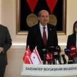 KKTC Cumhurbaşkanı Tatar'dan Gaziantep Belediye Başkanı Şahin'e ziyaret