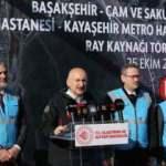 Başakşehir-Kayaşehir metro hattının yüzde 72'si tamamlandı