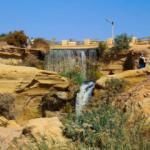 Çölde oluşan doğa harikası: Reyyan Vadisi Şelalesi