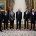 Erdoğan, Farasis Enerji CEO'su Kepler'i kabul etti