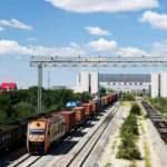 Erenhot sınır istasyonundan 8 bininci Çin-Avrupa yük treni geçti