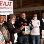 Evlat nöbetine katılan aile: Akan bütün kanlar HDP'den geçiyor