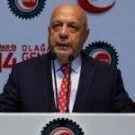 Hak-İş Genel Başkanı Arslan'dan Cumhurbaşkanı Erdoğan'a teşekkür