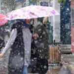 Son dakika: Meteoroloji uyarmıştı! Şehir merkezinde kar yağışı başladı