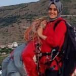 Paraşüt kazasında hayatını kaybeden Hilal, son yolculuğuna uğurlandı