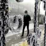 Buzlar şehrine döndü! -25 dereceyi gördü