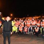 Bakan Karaismailoğlu, yeni yılı Bolu Dağı'ndaki ekiple karşıladı